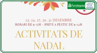 ACTIVITATS DE NADAL AMB L'ESPLAI CAN SERRA